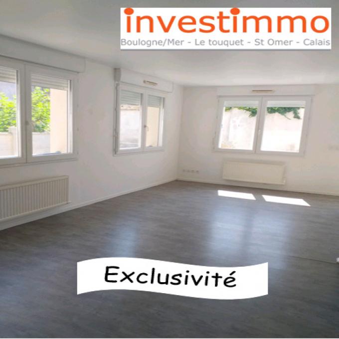 Appartement RDC Boulogne Centre