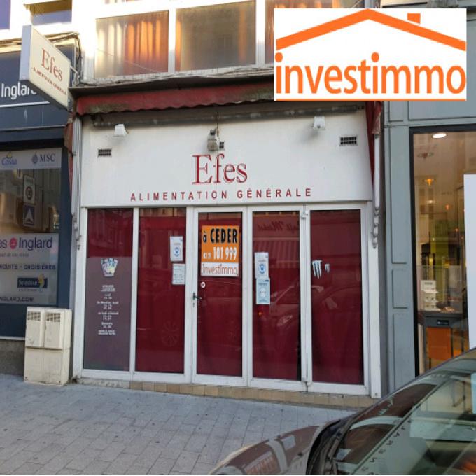 Vente Immobilier Professionnel Fonds de commerce Boulogne-sur-Mer (62200)